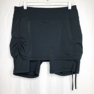 68000c37a1810 Coolibar Swim - Coolibar Skirted Swim Shorts UPF 50+
